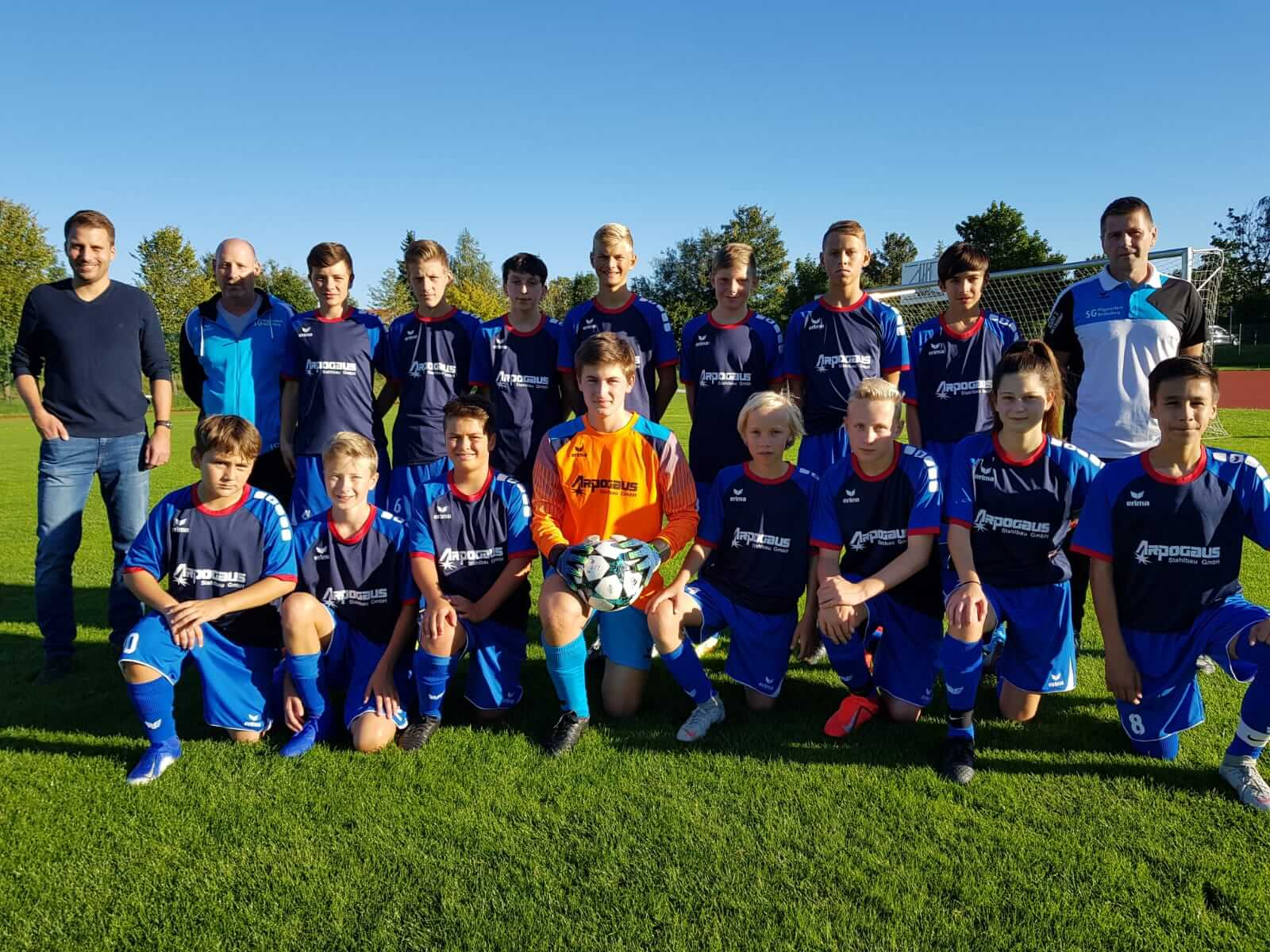 Arpogaus unterstützt den Jugendsport Fussball