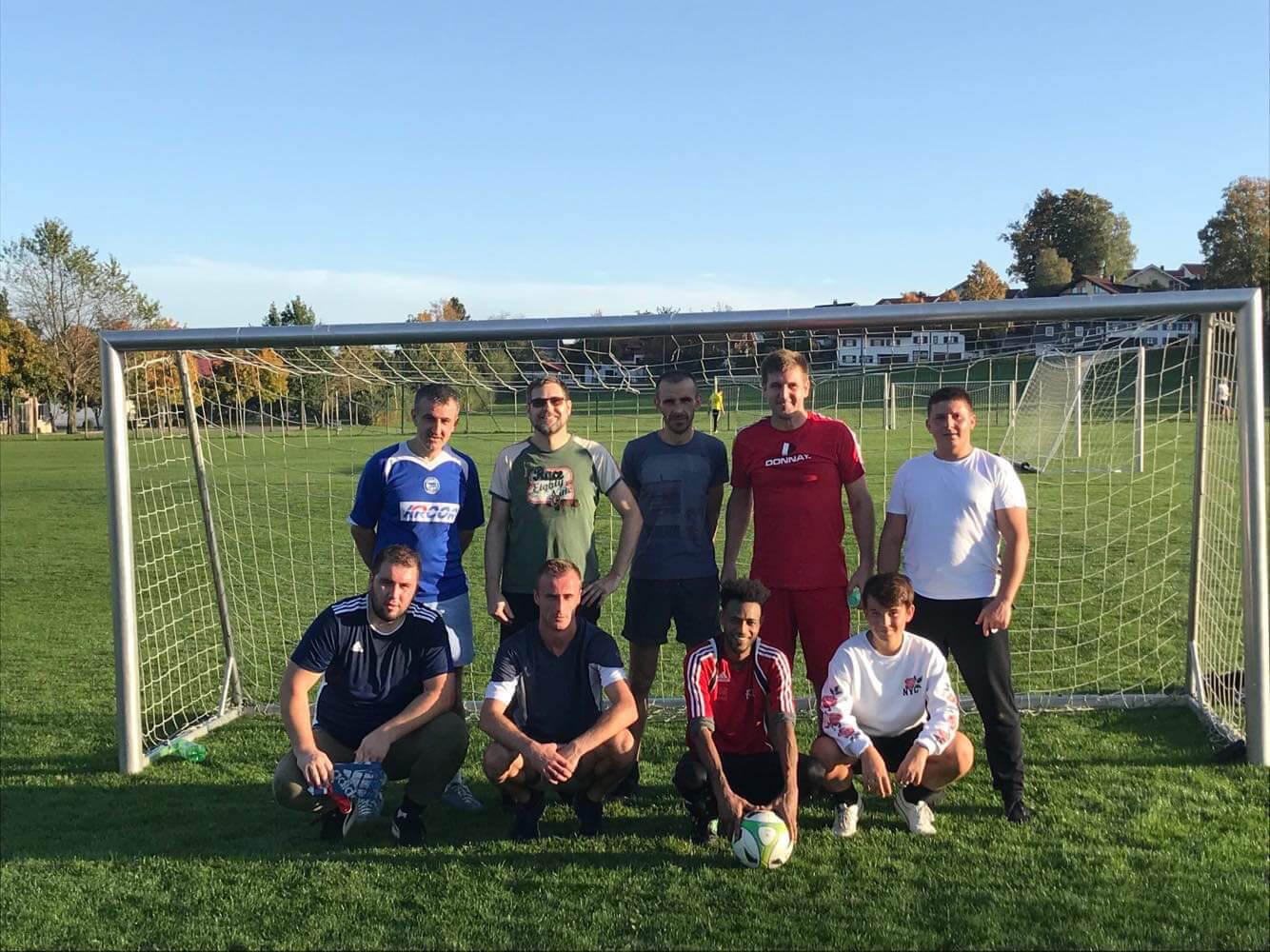 Arpogaus Stahlbau Fussballteam